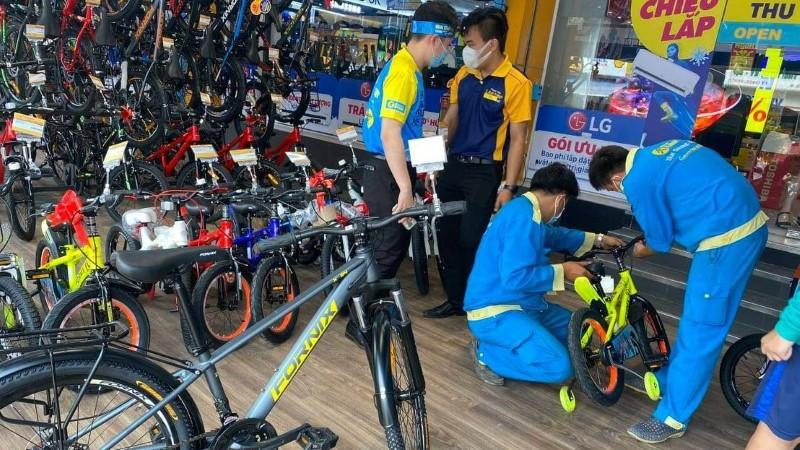 Thấy gì từ việc gấp rút mở 150 shop xe đạp sau dịch và tham vọng doanh thu 400 tỷ của Thế Giới Di Động? - Ảnh 1.