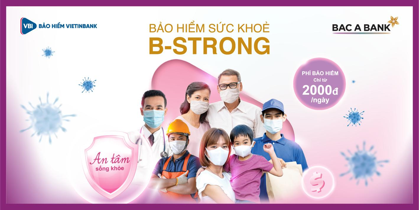 Bac A Bank và VBI ra mắt sản phẩm bảo hiểm sức khoẻ B-Strong - Ảnh 1.