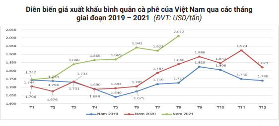 Giá cà phê xuất khẩu chạm đỉnh 4 năm sau cú sốc năm 2018 - Ảnh 1.
