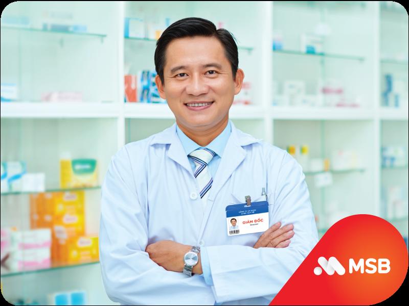 MSB tài trợ tới 100% chi phí đầu vào không tài sản bảo đảm cho doanh nghiệp Dược - Y tế - Ảnh 1.