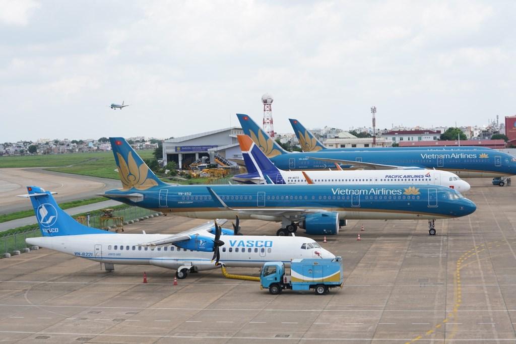 Cục Hàng không đề xuất phân nhóm sân bay để chuẩn bị khôi phục bay nội địa - Ảnh 1.