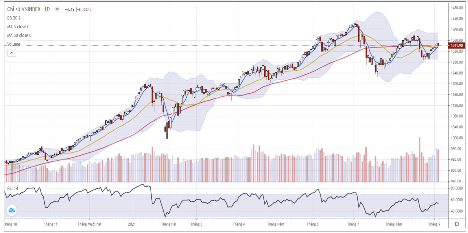 Nhận định thị trường chứng khoán ngày 8/9: Áp lực rung lắc tiếp tục xuất hiện - Ảnh 1.