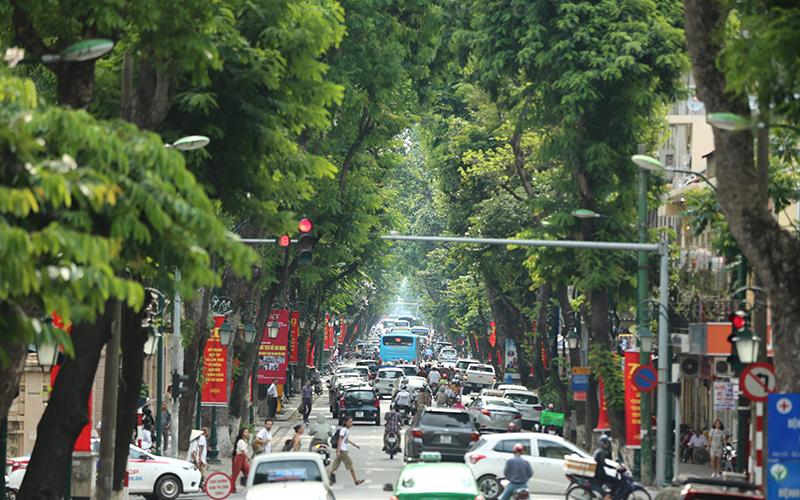 Đẩy mạnh hệ thống xe buýt điện tử, thuê xe đạp giá rẻ để hạn chế ô nhiễm môi trường tại TP Hà Nội - Ảnh 1.