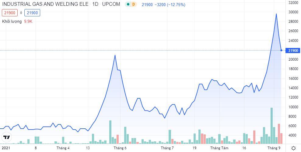 Công ty sản xuất khí oxy y tế lập đỉnh giá cổ phiếu, nắm 60% thị phần vẫn chật vật trước sức ép cạnh tranh - Ảnh 1.