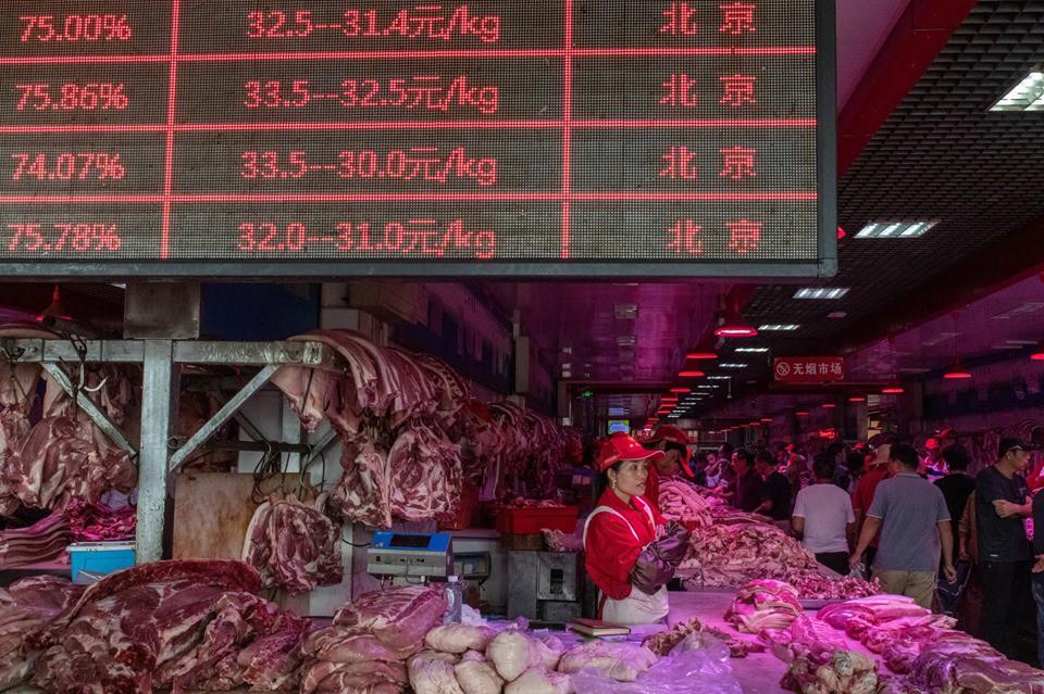 Khám phá kho dự trữ thịt lợn chiến lược của Trung Quốc - Ảnh 3.
