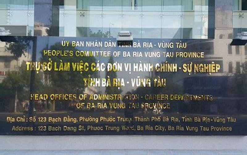 Bà Rịa - Vũng Tàu thông tin về việc 41 cán bộ bổ nhiệm thiếu điều kiện - Ảnh 1.