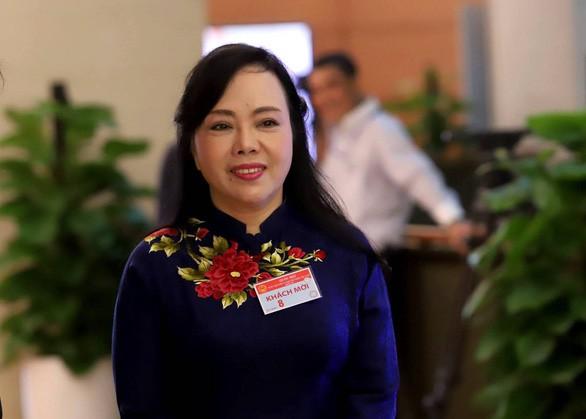 Bộ trưởng Y tế Nguyễn Thị Kim Tiến: Tôi bị thị phi - Ảnh 1.