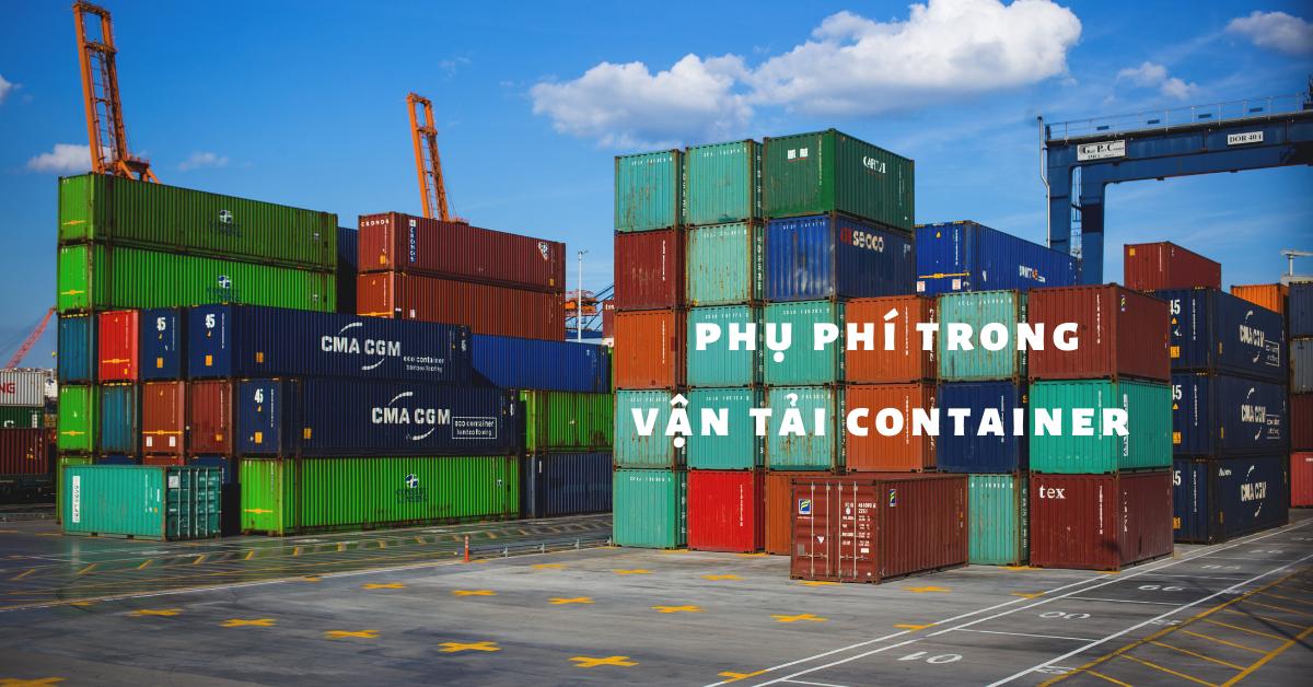 Cước phí trong vận tải container (1)