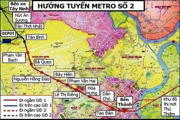 Tuyến metro số 2 TP HCM đã hoàn thành thủ tục tăng vốn gần gấp đôi - Ảnh 1.