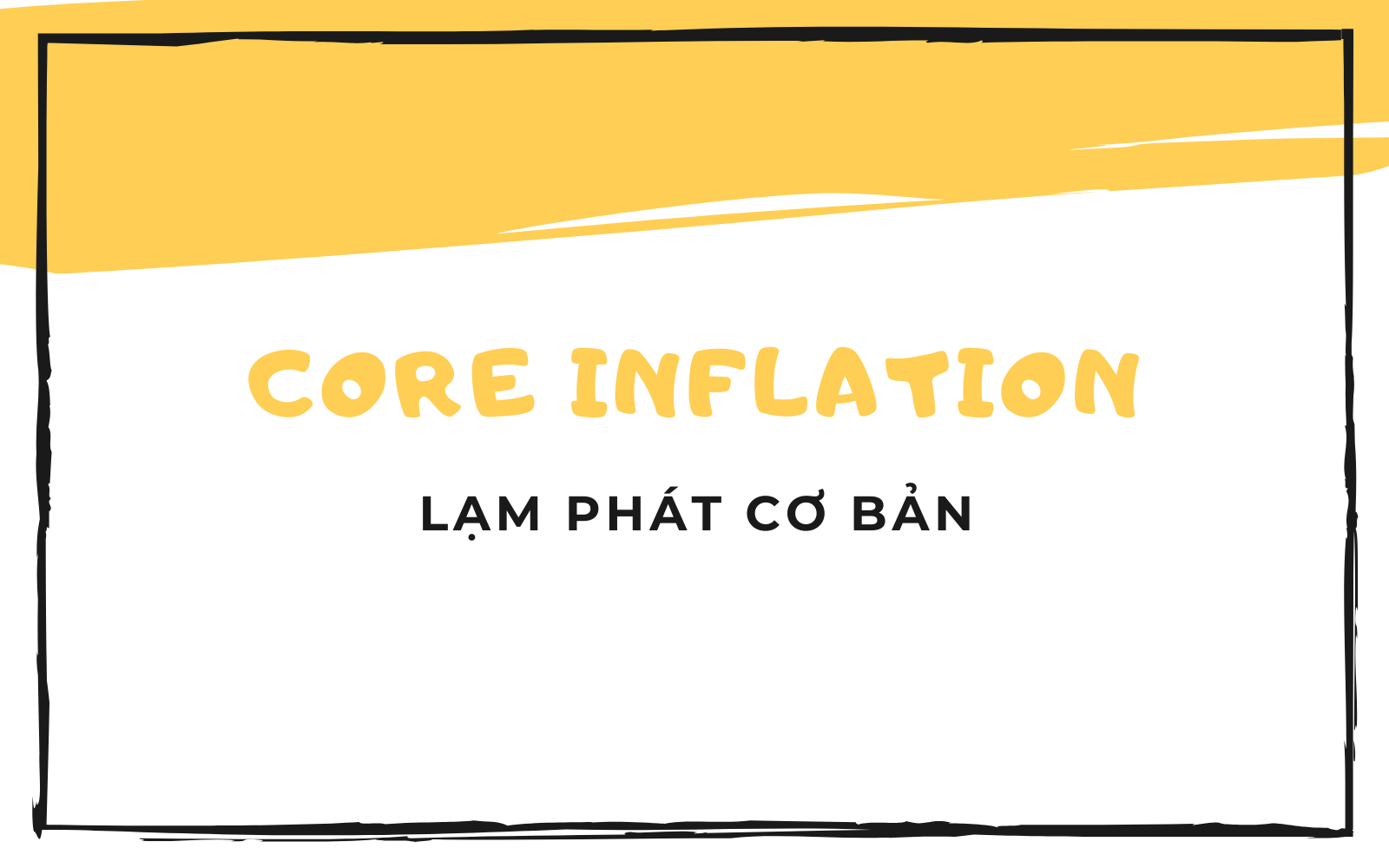 Core inflation