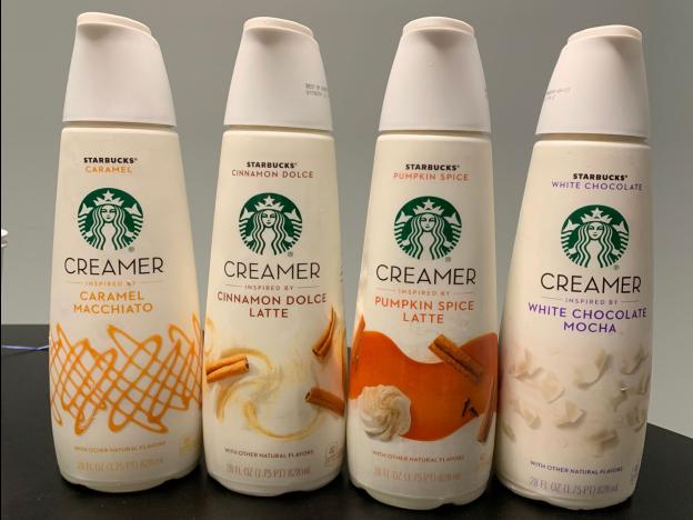 Starbuck Creamers