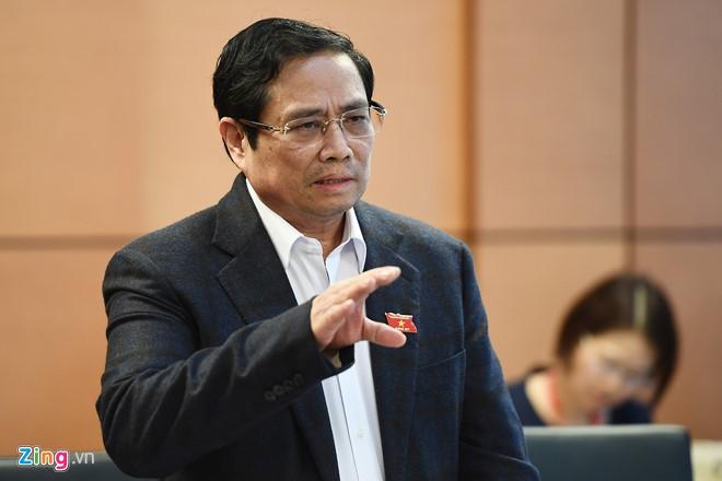 Ông Phạm Minh Chính: 'Giảm 1% chi thường xuyên là có 10.000 tỉ đầu tư' - Ảnh 1.