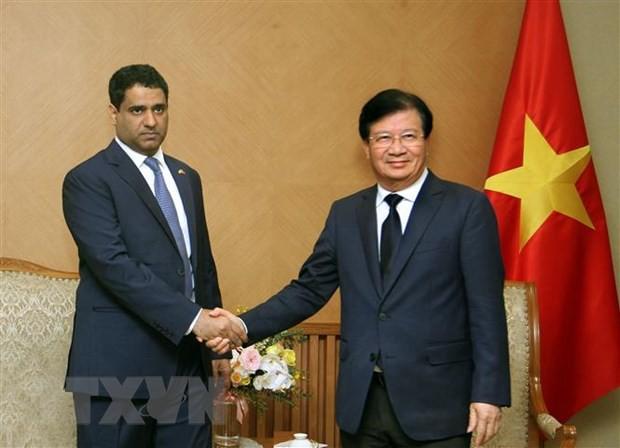 Tạo điều kiện cho doanh nghiệp UAE mở rộng đầu tư tại Việt Nam - Ảnh 1.