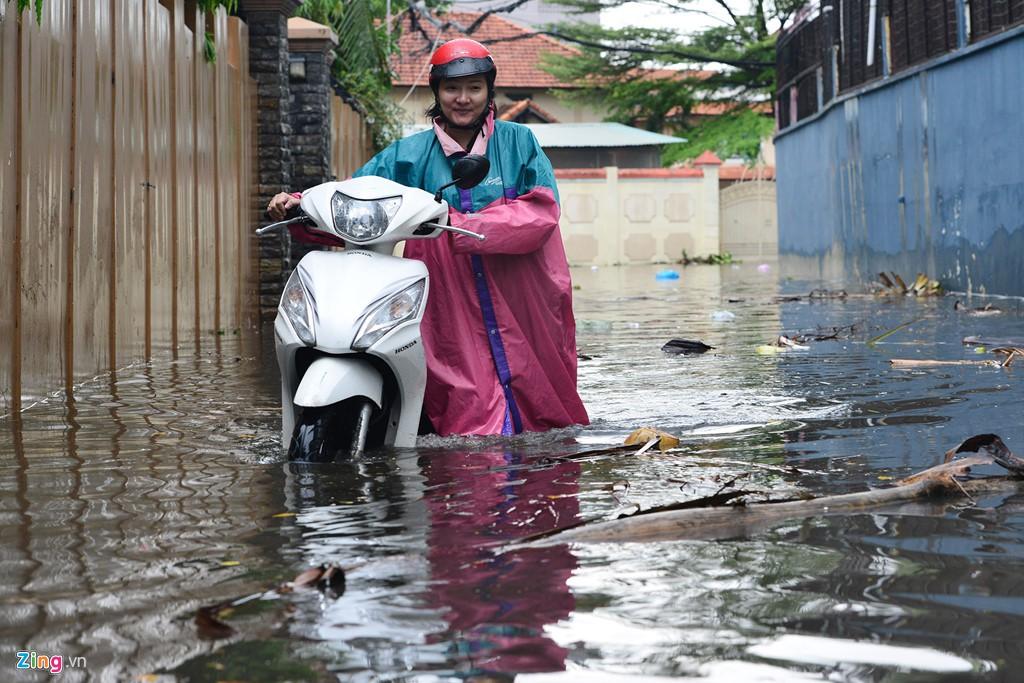 Thảo Điền - khu nhà giàu ngập nước, kẹt xe triền miên - Ảnh 16.