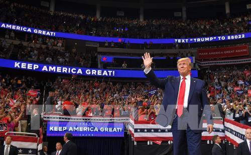 Bầu cử Mỹ 2020: Số tiền quyên góp của Tổng thống Trump tăng cao - Ảnh 1.