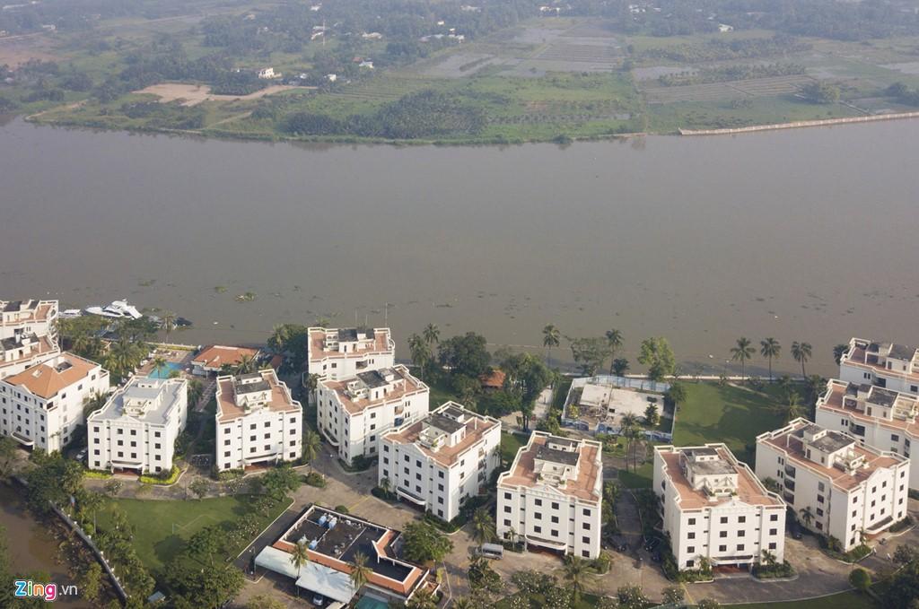 Chung cư, biệt thự ồ ạt mọc lên tại khu nhà giàu bị ngập Thảo Điền - Ảnh 3.