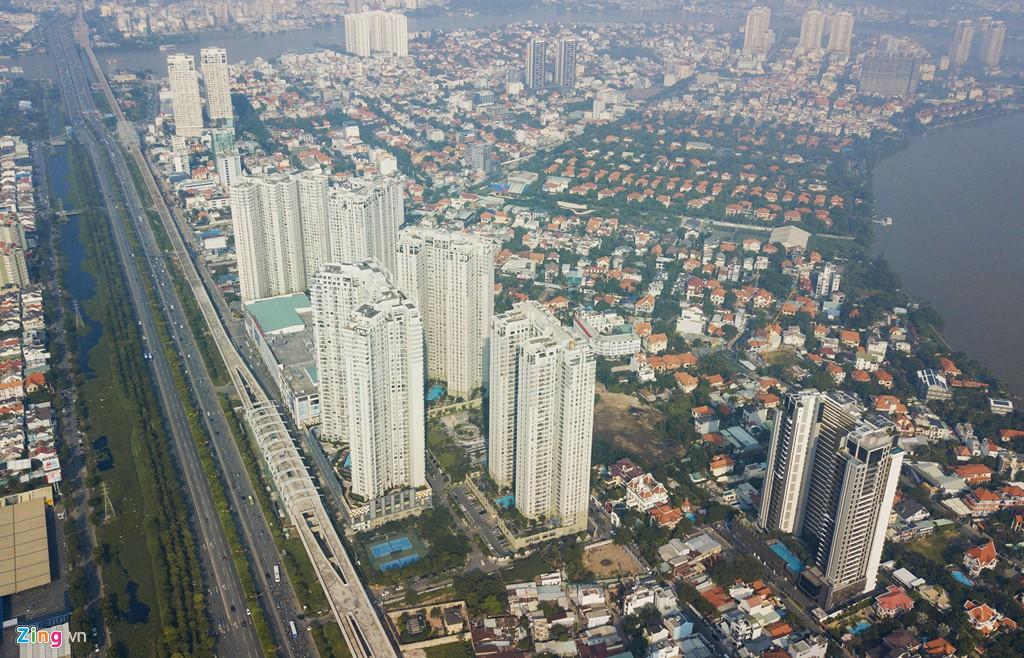 Chung cư, biệt thự ồ ạt mọc lên tại khu nhà giàu bị ngập Thảo Điền - Ảnh 6.