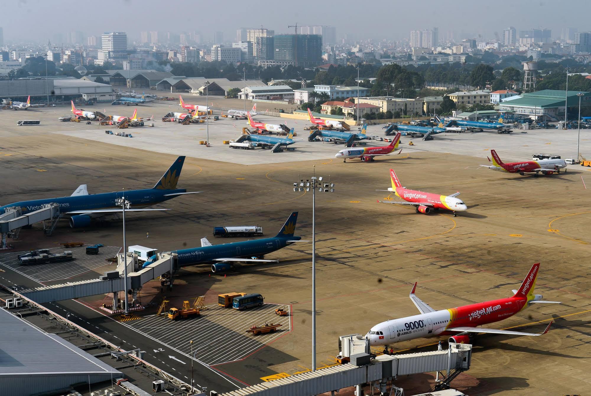 Thị phần 5 hãng hàng không Việt Nam đang nắm giữ thế nào? - Ảnh 1.