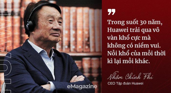 CEO Nhậm Chính Phi: Huawei trải hơn 30 năm gian khổ, nhiều lần tôi tưởng không vượt qua, đã nghĩ đến tự sát - Ảnh 2.