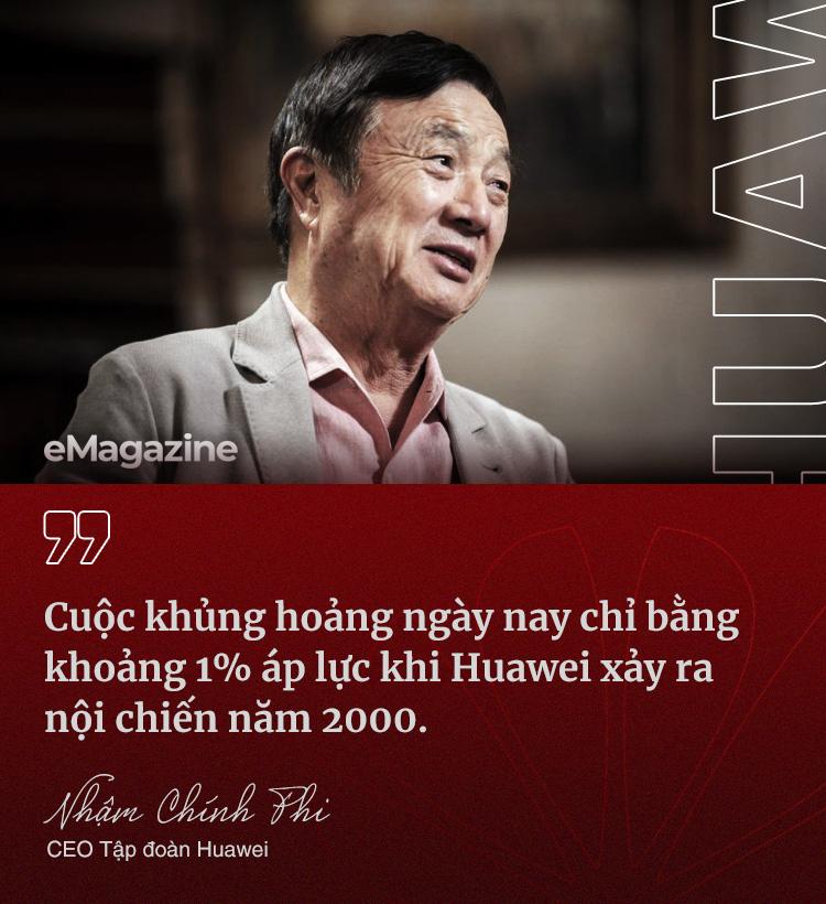 CEO Nhậm Chính Phi: Huawei trải hơn 30 năm gian khổ, nhiều lần tôi tưởng không vượt qua, đã nghĩ đến tự sát - Ảnh 5.