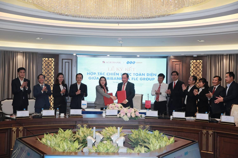 Tập đoàn FLC và Agribank hợp tác chiến lược toàn diện - Ảnh 1.