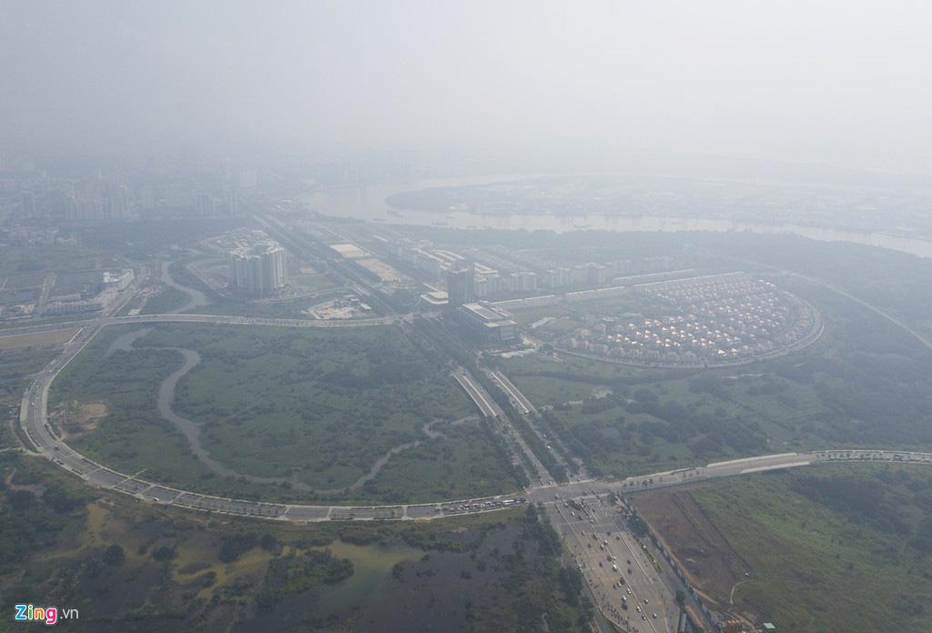 Bầu trời mịt mù thời điểm TP.HCM ô nhiễm thứ 4 thế giới - Ảnh 11.