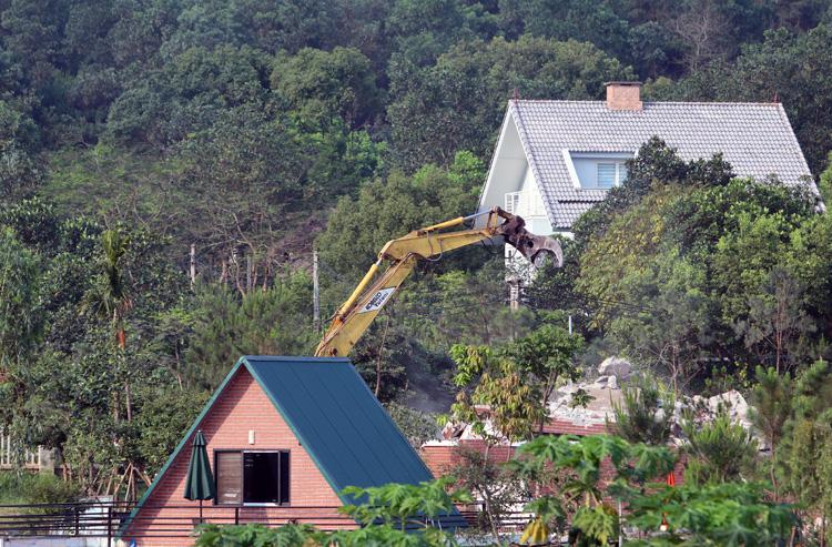 Nhiều Sở kiểm điểm sau thanh tra vi phạm đất rừng Sóc Sơn - Ảnh 2.