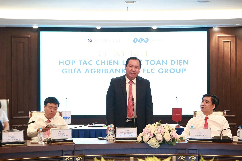 Tập đoàn FLC và Agribank hợp tác chiến lược toàn diện - Ảnh 2.
