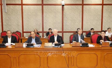 Tổng Bí thư, Chủ tịch nước chủ trì họp Bộ Chính trị - Ảnh 1.