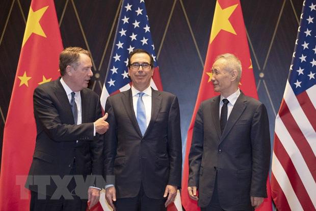 Mỹ, Trung Quốc nhất trí duy trì đối thoại về vấn đề thương mại - Ảnh 1.
