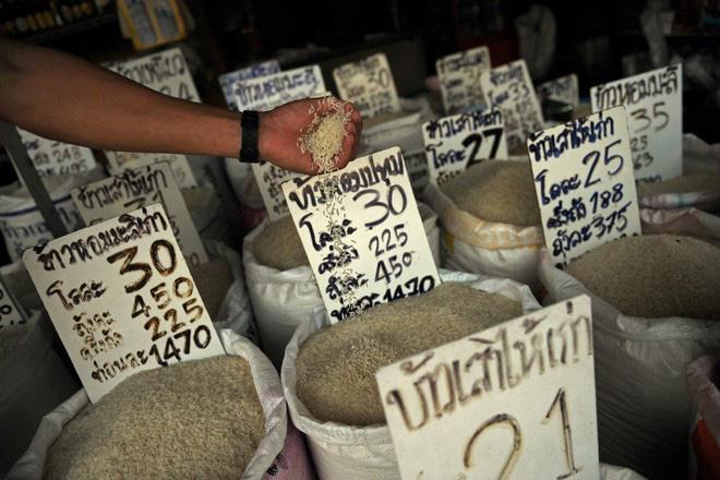 Gạo Thái Lan vật vã trong cơn khủng hoảng - Ảnh 1.