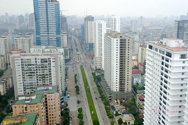 Thanh tra qui hoạch đường ngột thở ở Hà Nội hơn 2km 'nhồi' 40 cao ốc - Ảnh 3.