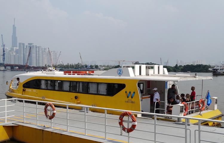 Đìu hiu ở buýt sông Sài Gòn - Ảnh 3.