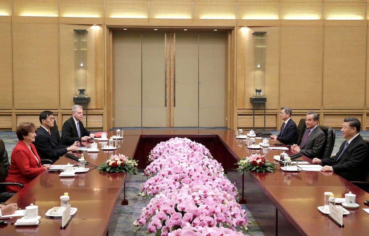 IMF và Trung Quốc cam kết thúc đẩy thương mại cởi mở, công bằng - Ảnh 1.