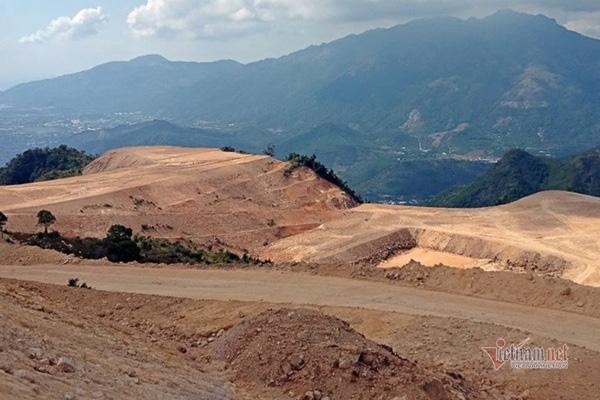 Sai phạm hàng loạt, 2/5 dự án ở núi Chín Khúc buộc thay đổi mục tiêu - Ảnh 1.