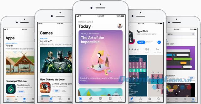 App-Store-giao-dien