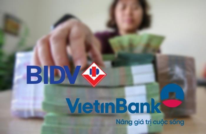Thông tư 22 sẽ hạn chế khả năng mở rộng tín dụng của BIDV và VietinBank? - Ảnh 1.