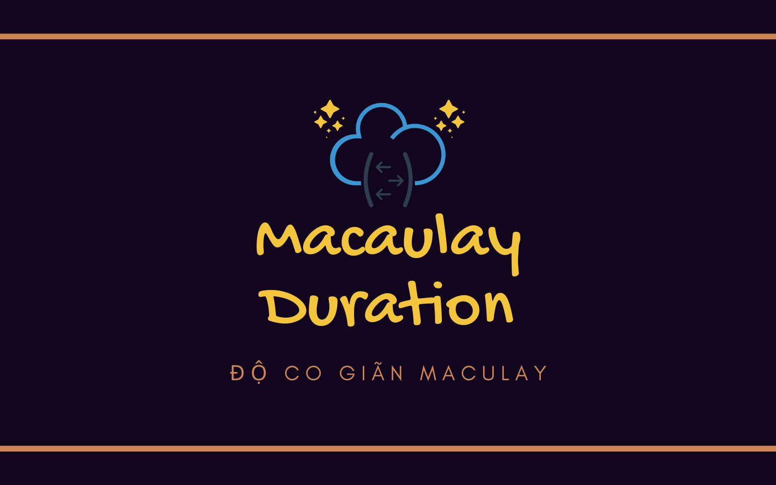 Macaulay Duration