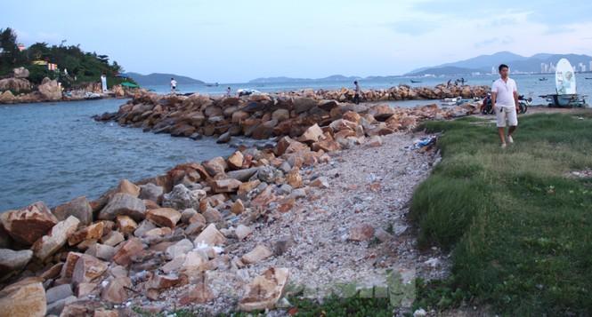 Thu hồi dự án 33 triệu USD lấn biển Nha Trang để xây công viên - Ảnh 1.