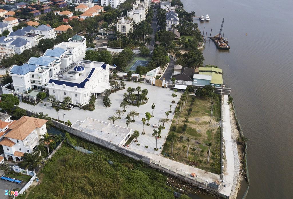 Biệt thự ở Thảo Điền bịt kín lối ra bờ sông Sài Gòn - Ảnh 12.