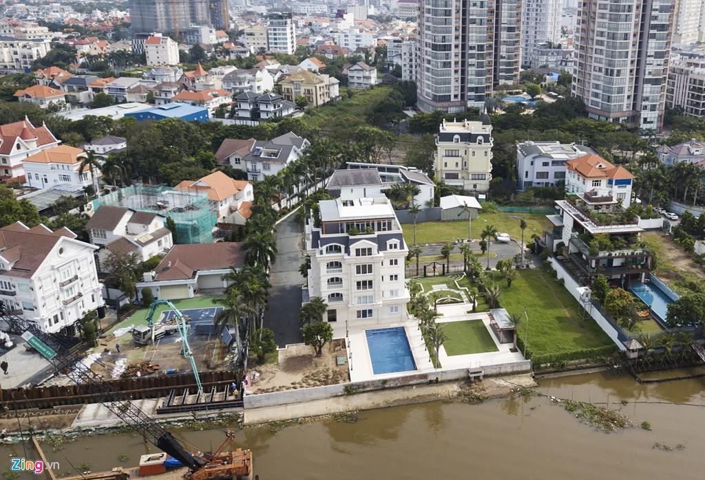 Biệt thự ở Thảo Điền bịt kín lối ra bờ sông Sài Gòn - Ảnh 13.
