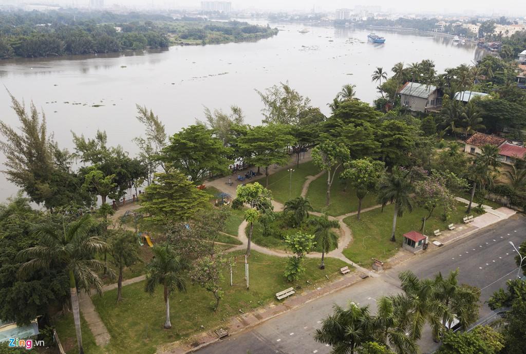 Biệt thự ở Thảo Điền bịt kín lối ra bờ sông Sài Gòn - Ảnh 19.