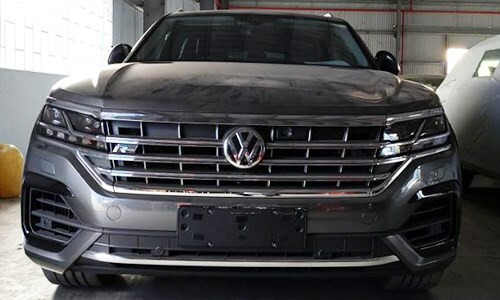Hải quan tịch thu xe Volkswagen có bản đồ đường lưỡi bò - Ảnh 2.