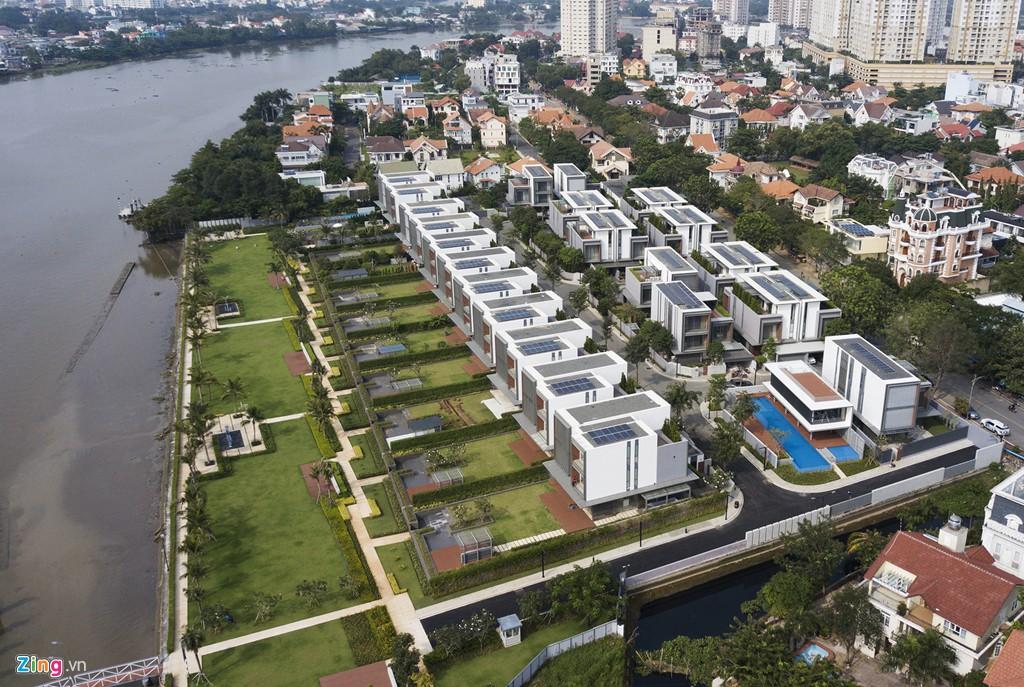 Biệt thự ở Thảo Điền bịt kín lối ra bờ sông Sài Gòn - Ảnh 3.