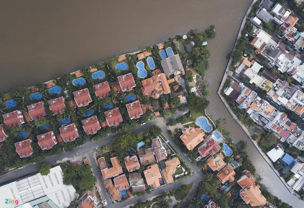 Biệt thự ở Thảo Điền bịt kín lối ra bờ sông Sài Gòn - Ảnh 4.