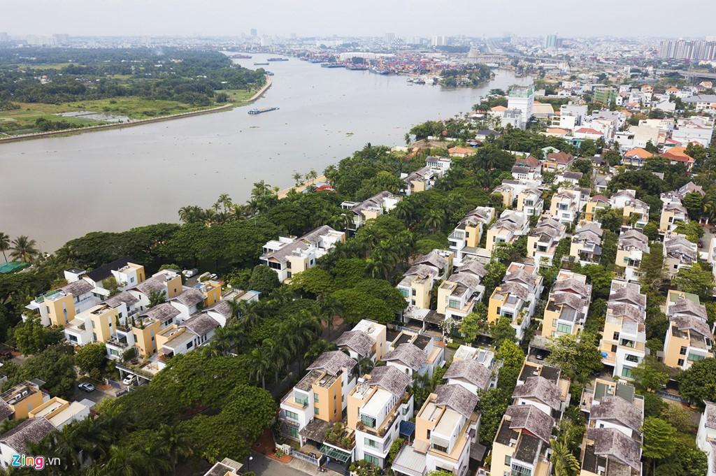 Biệt thự ở Thảo Điền bịt kín lối ra bờ sông Sài Gòn - Ảnh 5.