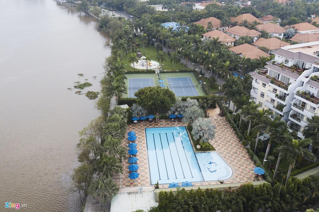 Biệt thự ở Thảo Điền bịt kín lối ra bờ sông Sài Gòn - Ảnh 6.