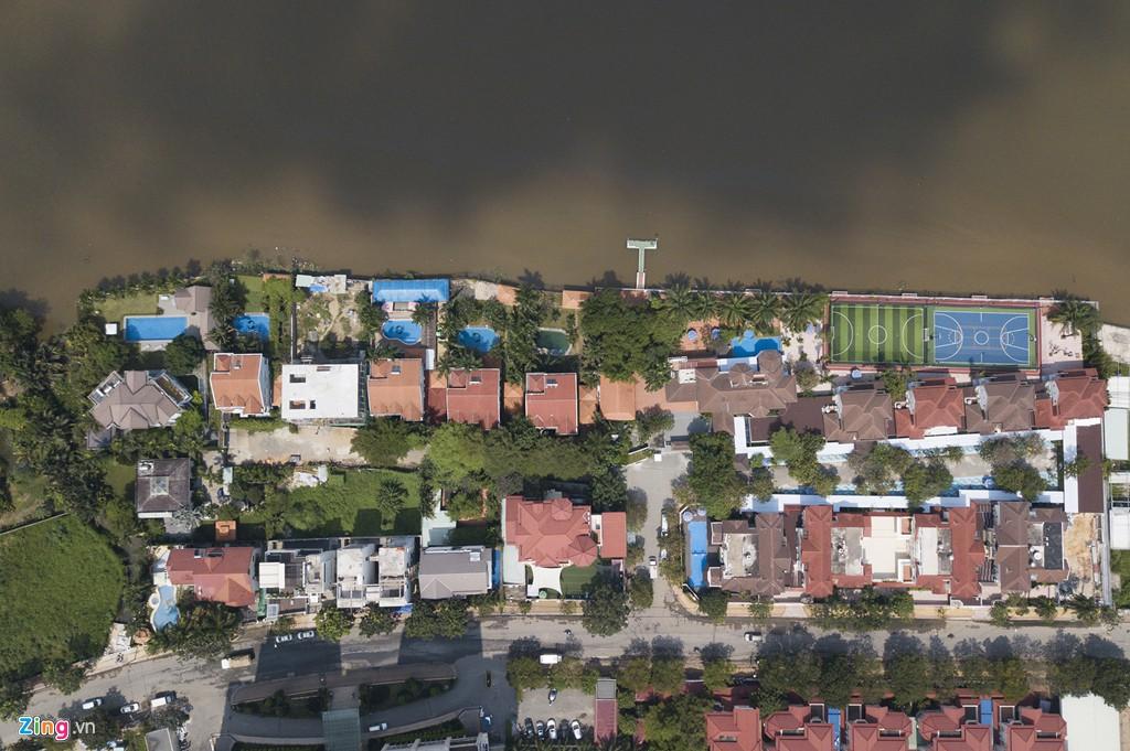 Biệt thự ở Thảo Điền bịt kín lối ra bờ sông Sài Gòn - Ảnh 9.