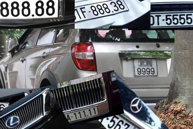 Cần đấu giá biển số xe đẹp để tăng thu ngân sách? - Ảnh 1.