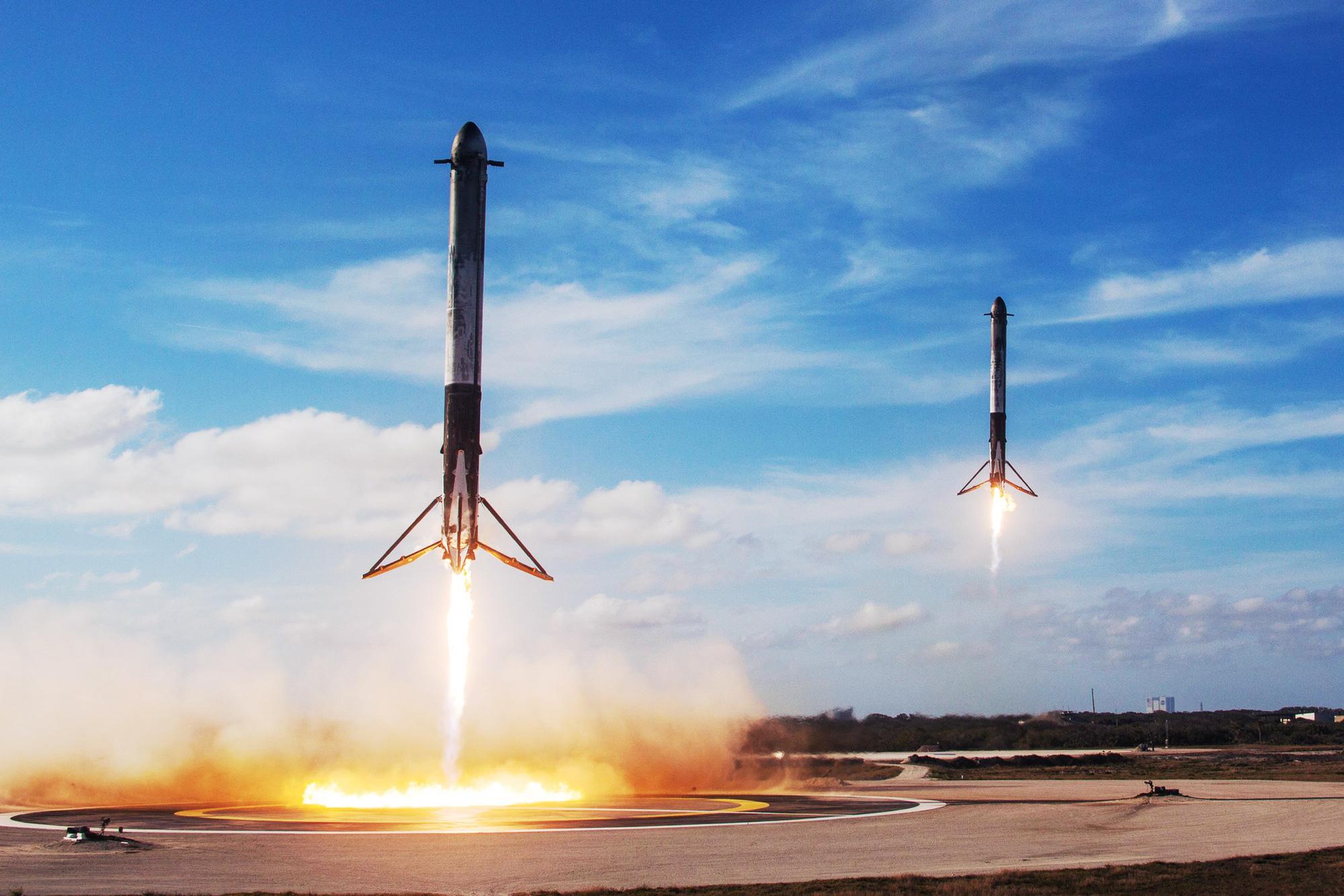 Source spacex rocket return